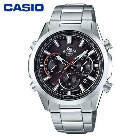 casio/卡西欧 EDIFICE商务EQW-T650系列太阳能商务男表