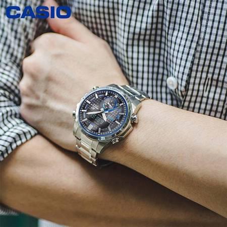 casio/卡西欧 ECB-800系列太阳能动力蓝牙时尚商务男表