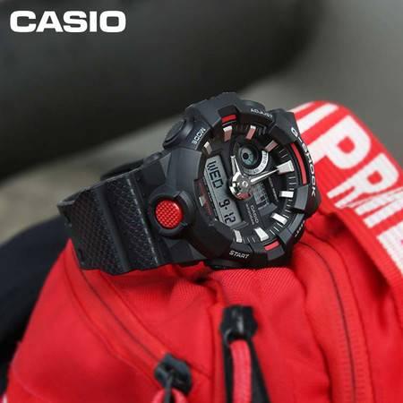 casio/卡西欧 GA-700系列G-SHOCK防水运动时尚男表