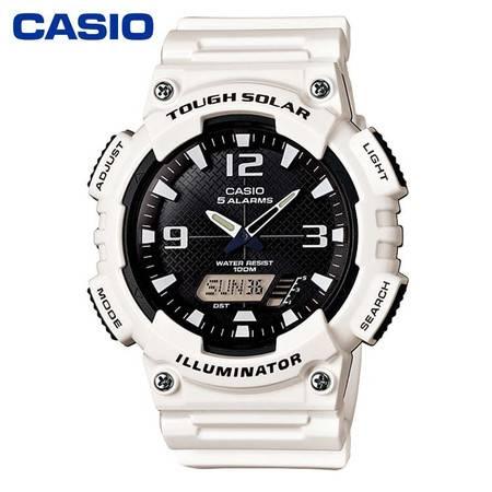 casio/卡西欧AQ-S810系列运动时尚手表双显防水男表 AQ-S810WC-7A