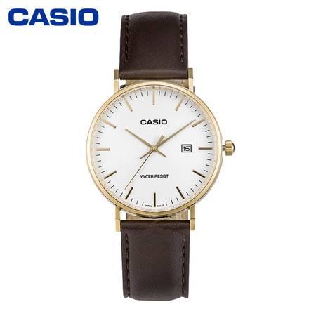 casio/卡西欧手表大众指针MTH/LTH-1060系列石英男女表LTH-1060GL-7APF