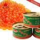 俄罗斯进口大马哈红鱼子罐头130g 铁罐