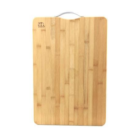 工艺竹老大菜板40*30  长发形竹砧板菜板切菜板竹面板案板刀板厨房用品