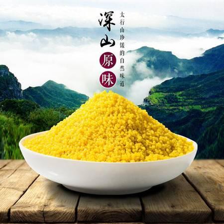 太行山小米 新小米(袋装)400g 营养丰富 古色醇香 唯有太行 靠山红的小米 吃出来的口碑