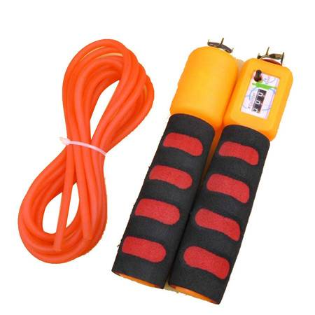 幸运宝贝 中考达标测试训练绳 计数器 轴承可转 防滑手柄
