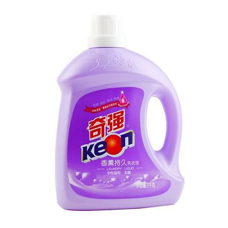 奇强 香薰持久洗衣液 3千克  机洗手洗洗衣液家庭装