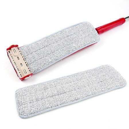 爱格 平板拖把 QP07 拖把免手洗平板拖把家用自挤式旋转木地板瓷砖懒人擦地拖布