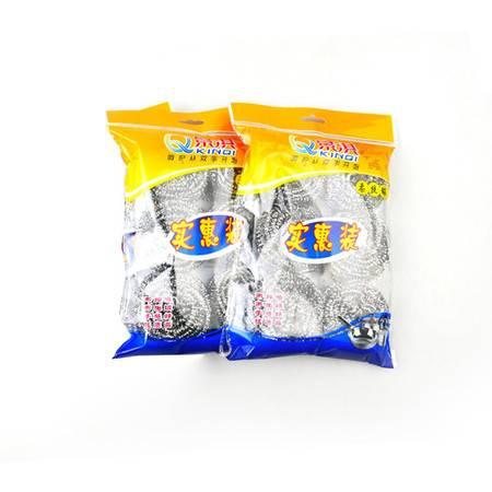景淇 不锈钢丝清洁球 2袋*6 单个13克