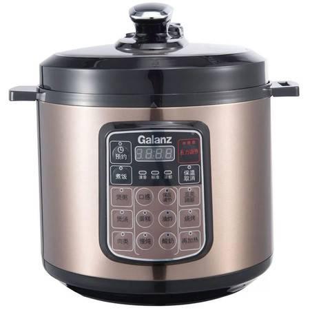 格兰仕/Galanz  YB6040电压力锅6升 多段压力收汁提味 电压力锅 24小时预约 黑色