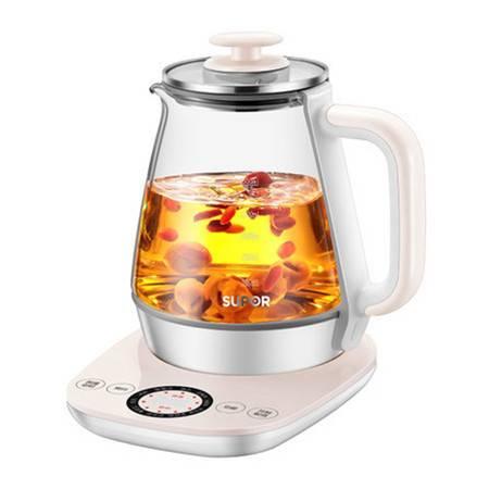 苏泊尔/SUPOR 1.5升多功能养生壶 SW-15Y12加厚玻璃煮茶壶多功能家用养生壶电热水壶
