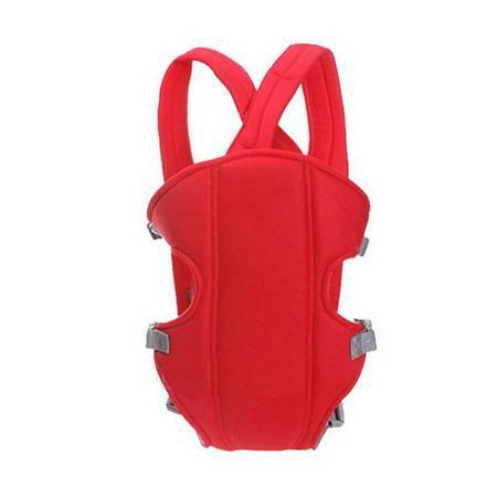 普润 婴儿背带 横抱式背巾四季通用新生儿背带婴幼儿后背式 红色