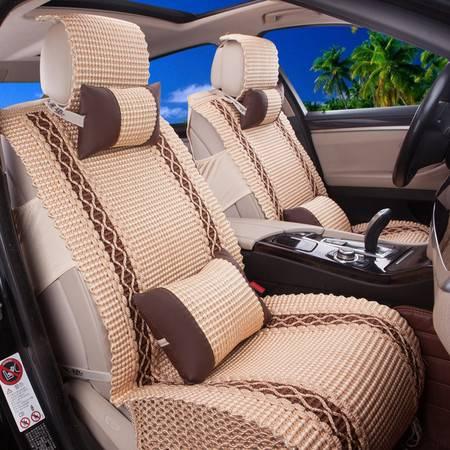 Racing冰丝汽车四季坐垫 轿车通用座垫 汽车用品 座套