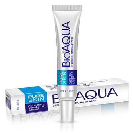 BIOAQUA去痘膏去除粉刺补水保湿 祛痘膏控油滋养面部精华化妆品