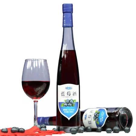 【丰都馆】七跃山蓝莓酒500ML(12.5%vol)
