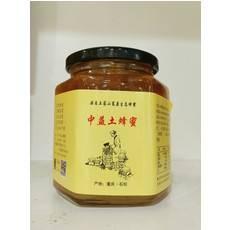 [石柱扶贫馆] 寻找乡村渝味 中益土蜂蜜  六角瓶土蜂蜜 500g