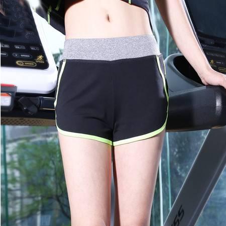 韵格p24 薄款运动短裤女透气速干健身瑜伽服大码宽松运动裤