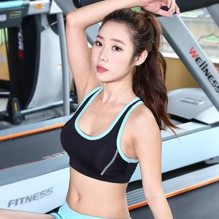 韵格W132 瑜伽服专业高强度背心式防震运动内衣跑步健身速干文胸