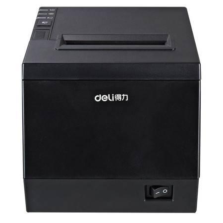 得力/DELI  DL-801P热敏打印机 商场超市外卖单80mmUSB有线迷你小票据机