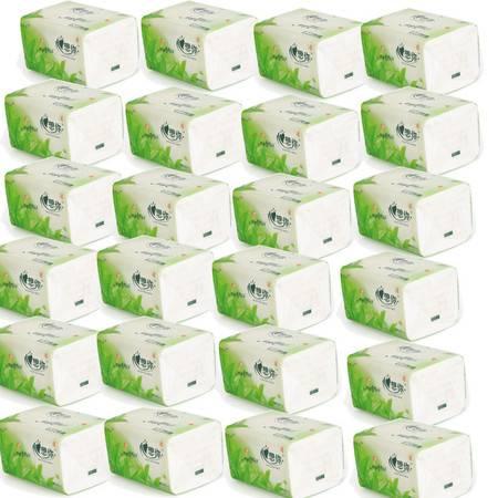 真想你纸抽 24包 每包400张  3层  面巾纸 餐巾纸 卫生纸