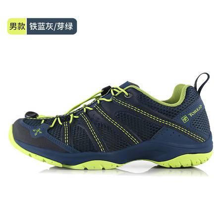 探路者/TOREAD夏户外男旅行徒步鞋女鞋网面透气防滑登山鞋  运动鞋KFAG81312