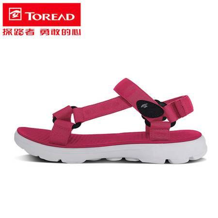 探路者/TOREAD 凉鞋女士 夏季户外运动溯溪涉水海边防滑沙滩运动鞋TFGG82739