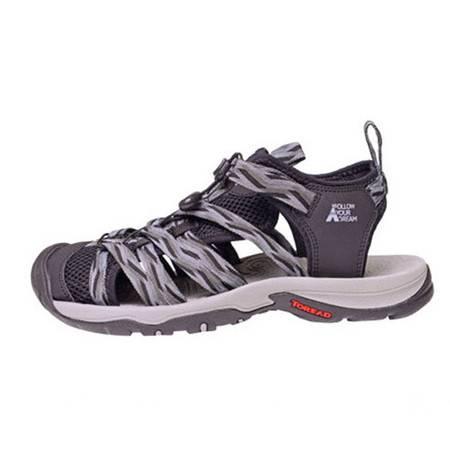 探路者/TOREAD 沙滩鞋男包头运动鞋凉鞋织带凉鞋涉水鞋TFGG81718
