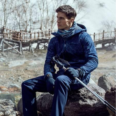 探路者/TOREAD 软壳衣 户外男式防风保暖弹力软壳外套KAEG91125 运动装 外套