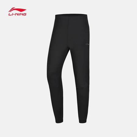 李宁 卫裤男士训练系列长裤男装夏季收口运动裤AKLN345