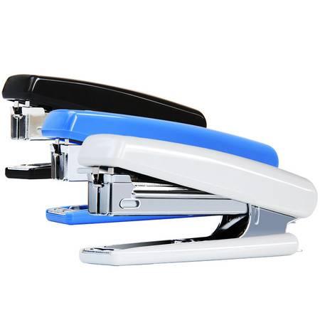 得力/deli 0221订书机10号钉书机学生用订书器小号试卷装订器