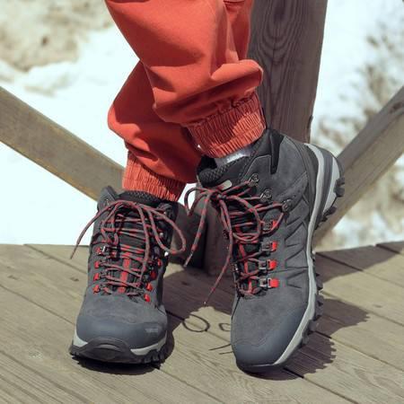 探路者运动鞋 探路者登山鞋 19秋冬户外男式轻量耐磨登山鞋TFBH91073