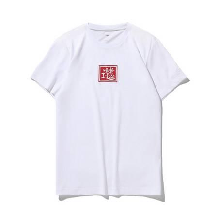 李宁/LI NING 新品 男子宽松短袖T恤文化衫AHSQ639