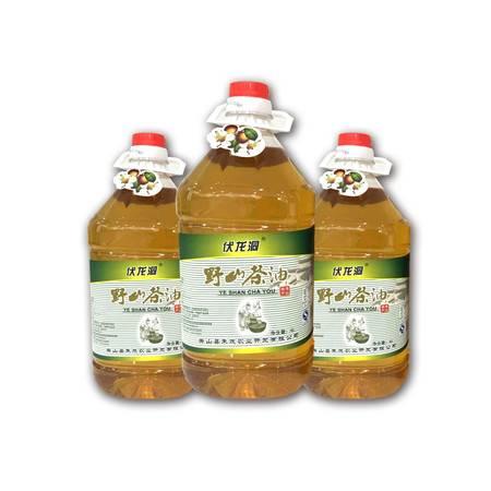 秀山农特产伏龙洞 野山茶油 4L(桶装)