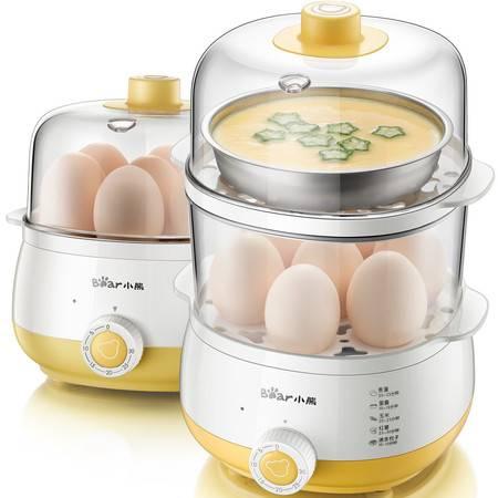 Bear/小熊 ZDQ-A14R1蒸蛋器双层定时迷你煮蛋自动断电大容量
