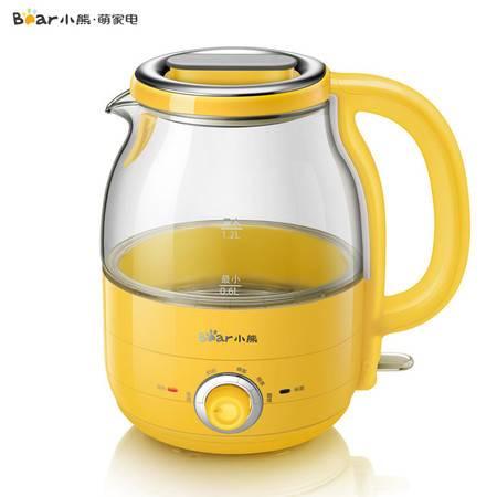小熊 ZDH-A12R2电热水壶家用自动断电304不锈钢玻璃水壶保温