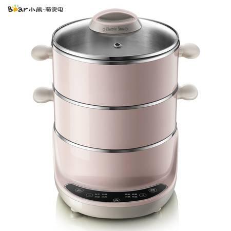 小熊 DZG-D40A1多功能家用电蒸锅大容量多层不锈钢电蒸笼