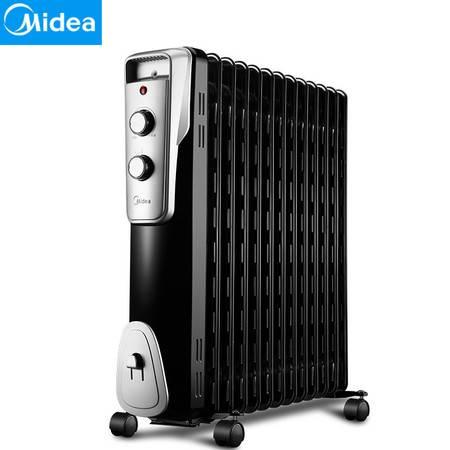 美的/MIDEA NY2513-16J1W 电热油汀家用取暖器油丁大功率暖器片电暖气