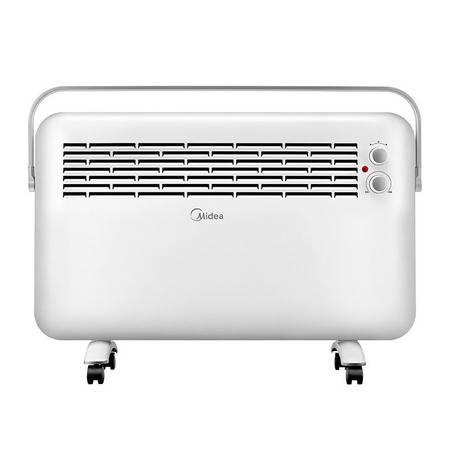 美的/MIDEA 取暖器浴室 对衡式 升温快暖风机家用办公室 防水电暖器 NDK22-15D1