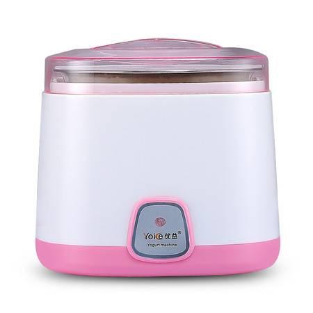 优益/YOICE 酸奶机家用全自动不锈钢内胆1L粉色 Y-SA11