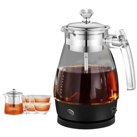 汉佳欧斯 煮茶器 黑茶煮茶壶全自动保温蒸茶壶玻璃蒸汽喷淋式养生壶电动煮水壶煮茶器煮茶器升级款603