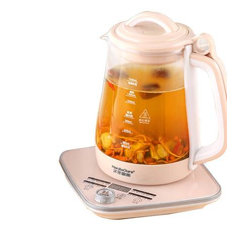 汉佳欧斯/HanJiaOurs 养生壶煮茶壶玻璃炖盅多功能养生壶M2