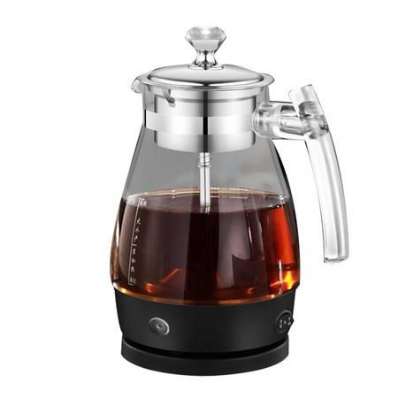 汉佳欧斯 煮茶器 黑茶煮茶壶全自动保温蒸茶壶玻璃蒸汽喷淋式养生壶电动煮水壶煮茶器标准款603