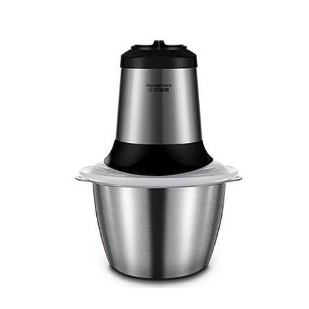 汉佳欧斯 1.2L家用电动搅拌机绞肉机搅肉机碎肉机多功能双刀不锈钢碗绞菜机PY-790