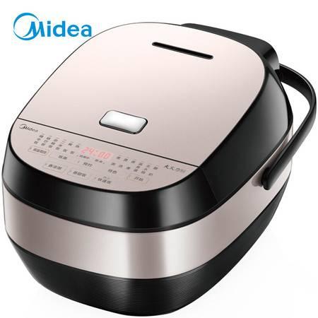 美的/MIDEA MB-HS4068 电饭煲IH电磁加热4L智能预约触摸操控精铁厚釜内胆电饭煲
