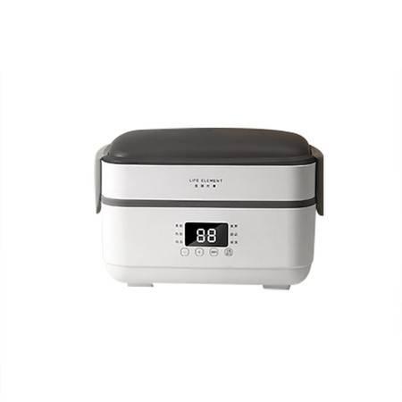 生活元素(LIFE ELEMENT)电热饭盒自动加热保温可插电迷你上班族双层蒸饭盒F35