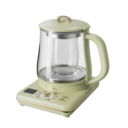 小熊(Bear)养生壶办公室小型mini复古炖盅多功能煮茶器煮花茶壶YSH-D15U2