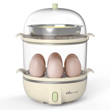 小熊(Bear)煮蛋器家用自动断电双层蒸蛋器早餐机ZDQ-B14Q1