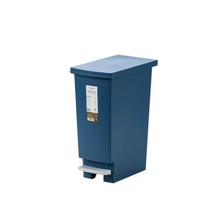 茶花 洁纳垃圾桶家用带盖脚踩脚踏式卫生间厨房客厅大号分类垃圾筒205002