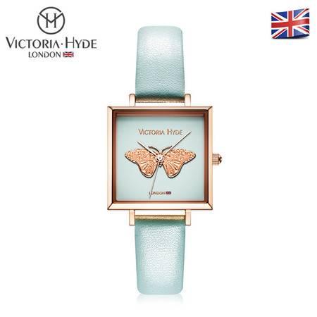 Victoria • Hyde 复古系列 个性休闲 时尚潮流 女士手表 方形表盘 腕表