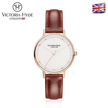 Victoria • Hyde 波多贝罗系列 时尚休闲 潮流个性女士石英手表