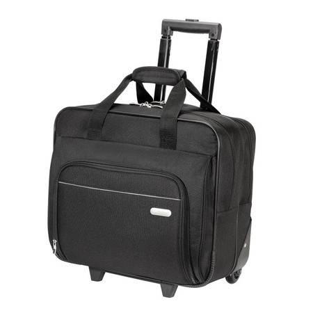 泰格斯/TARGUS商务出差登机箱16英寸大容量旅行箱拉杆箱 男女TBR003 黑色